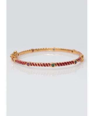 Gold plated Bangle/ AQB012