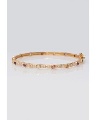 Gold plated Bangle/ AQB013