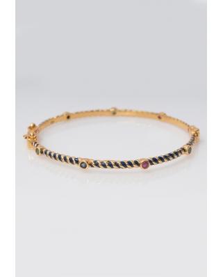 Gold plated Bangle/ AQB016