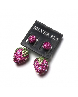 CE006, STRAWBERRY EARRING