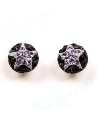 CE047, 8mm Half Ball EARRING