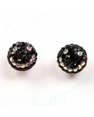 CE049, 8mm Half Ball EARRING