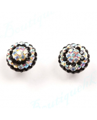 CE050, 8mm Half Ball EARRING
