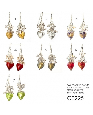CE225, ITALY MURANO GLASS