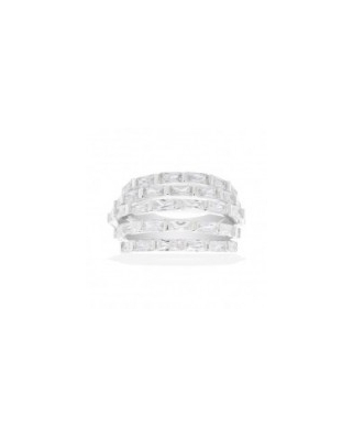 Silver with CZ Ring / A14947OX