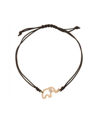 Little Elephant 18K Gold Bracelet / 34965