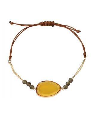 18K Gold Bracelet / 39393
