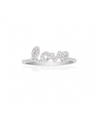 Silver with CZ Ring / A14899OX