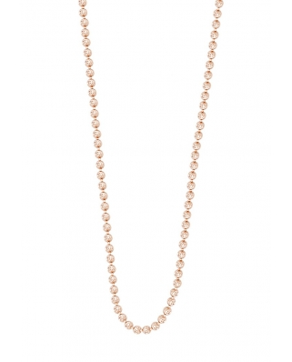 Moon Cut Rose Gold Vermeil Necklace