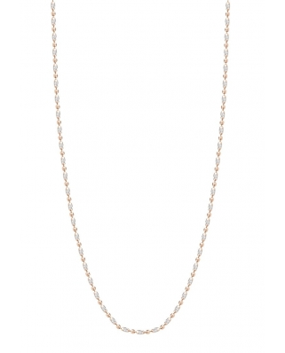 Rice bead Rose Gold Vermeil Necklace