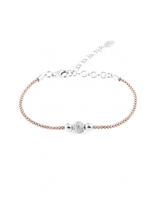 Rose Gold Vermeil with CZ Bracelet