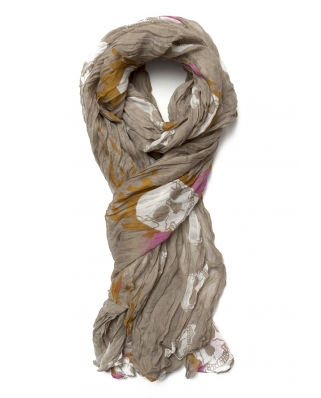 Skull pattern scarf / ST032