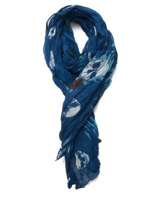 Skull pattern scarf / ST031