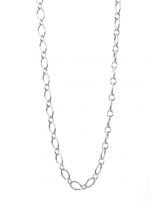 Essentials Silver Necklace 28""