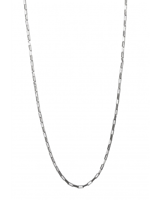 Essentials Silver Necklace 16""
