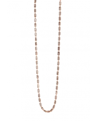 Bamboo Rose Gold Vermeil Necklace