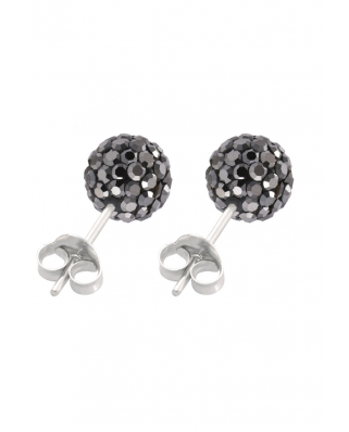 Crystal Earrings, 7mm Ball