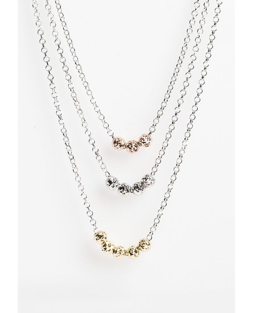 Tri-Colors necklace