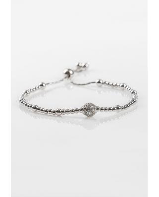 BR2175-1 Silver Bracelet
