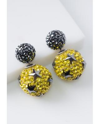 Star Crystal Earrings / CE421-05