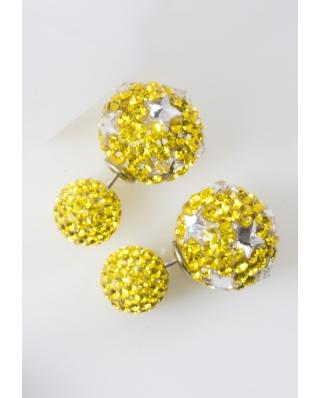 Star Crystal Earrings / CE421-11