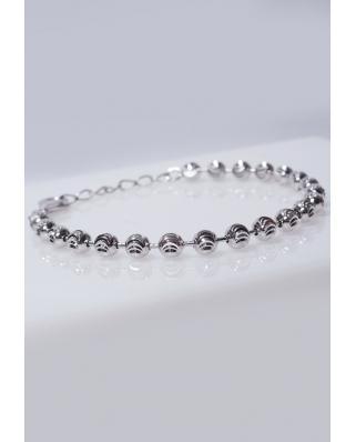 Silver bracelet Moon Cut / CYB011S