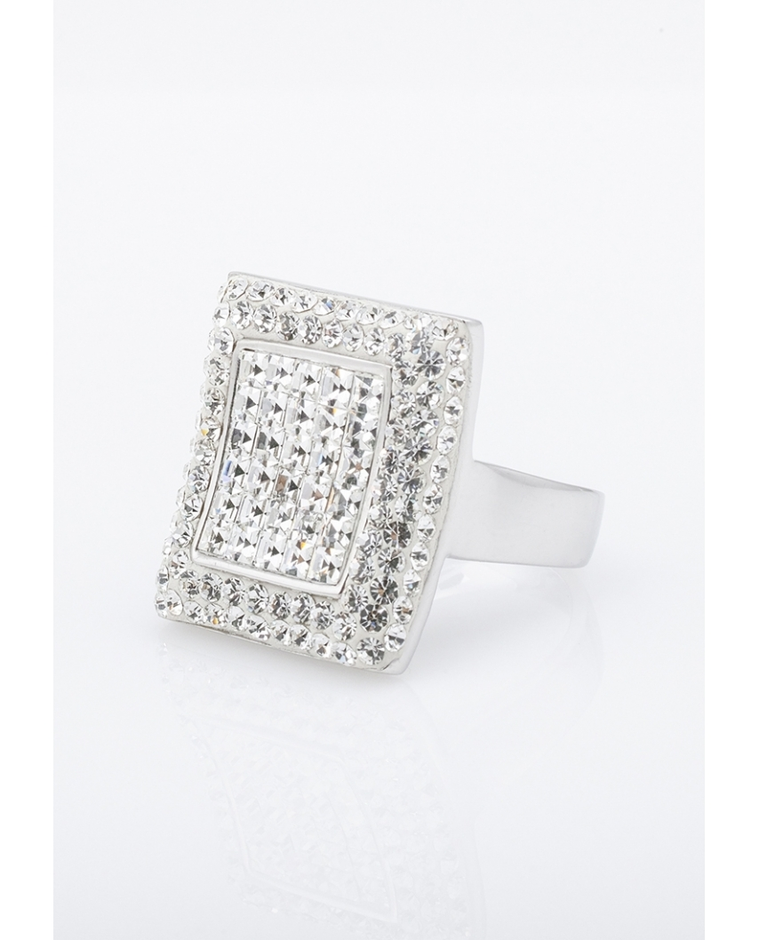 Silver Ring with Pearl / CR011-1