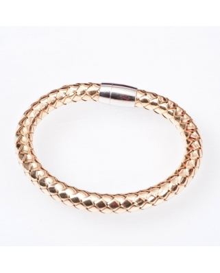 Gold Plated Sterling Silver Bangle Magnetic Clip