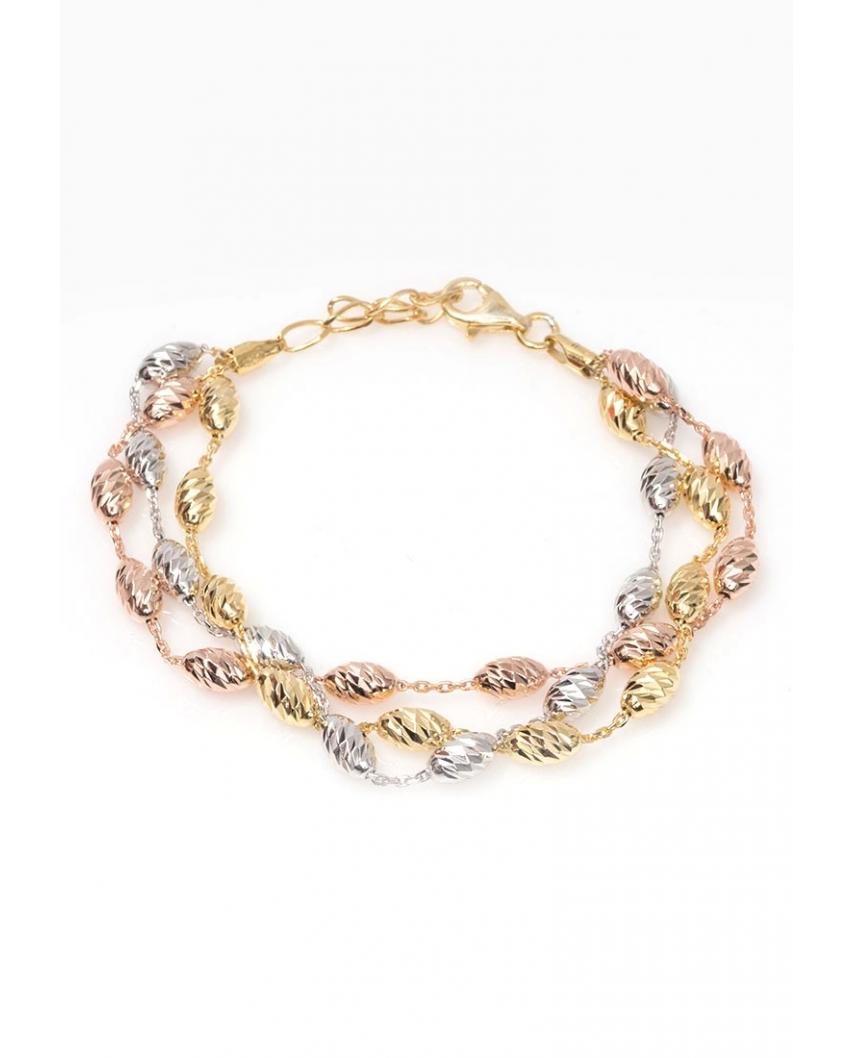 Silver bracelet / CYB012SRG