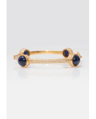 Gold Vermeil Bangle/ AQB005