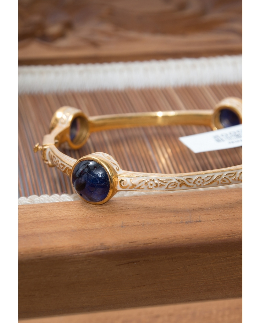 Gold plated Bangle/ AQB005