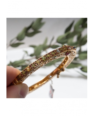 Gold plated Bangle/ AQB007