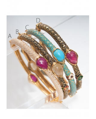 Gold plated Bangle/ AQB008
