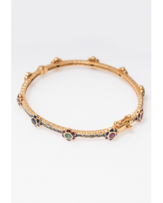 Gold plated Bangle/ AQB009