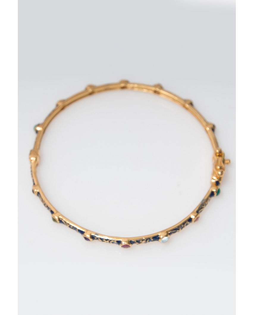 Gold plated Bangle/ AQB011