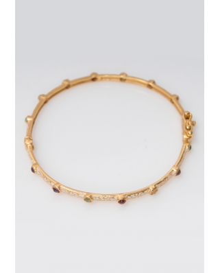 Gold plated Bangle/ AQB013