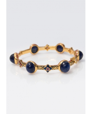 Gold Vermeil Bangle/ AQB014