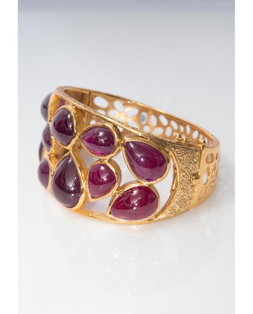 Gold plated Bangle/ AQB017