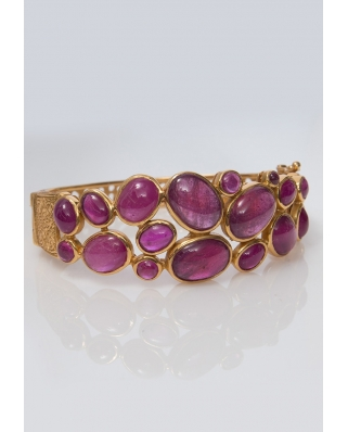 Gold plated Bangle/ AQB018