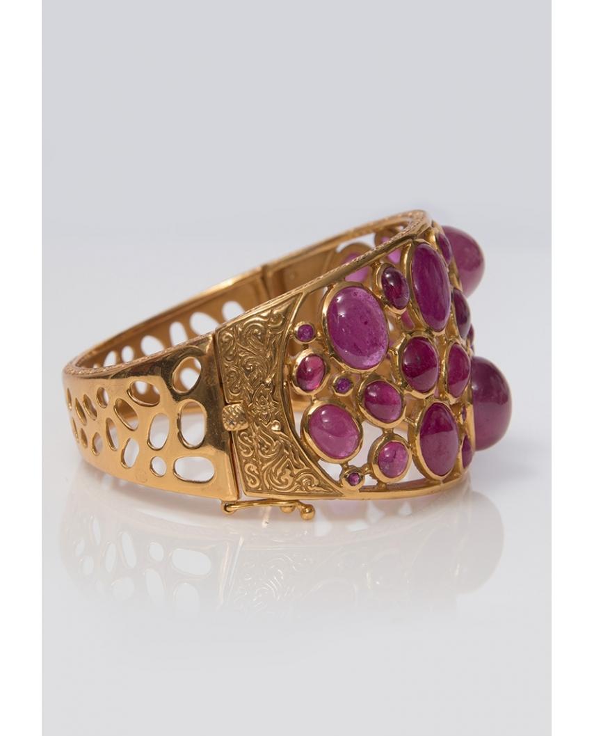 Gold plated Bangle/ AQB019