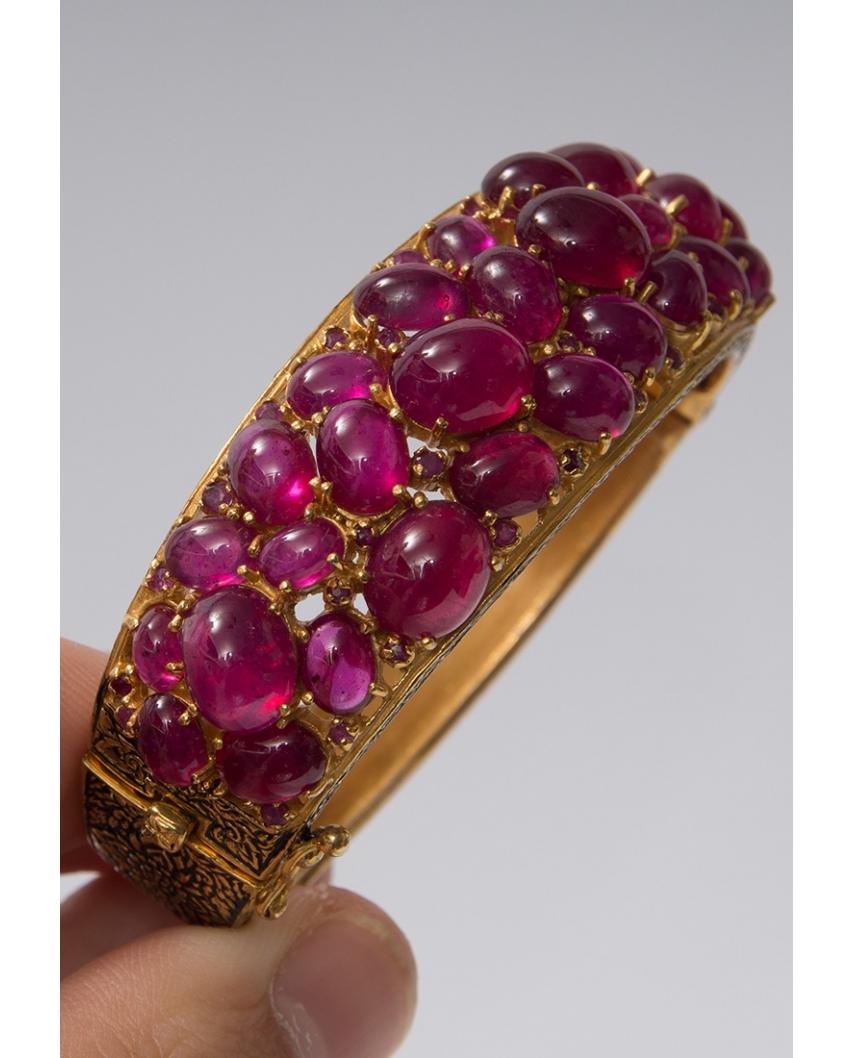 Gold plated Bangle/ AQB020
