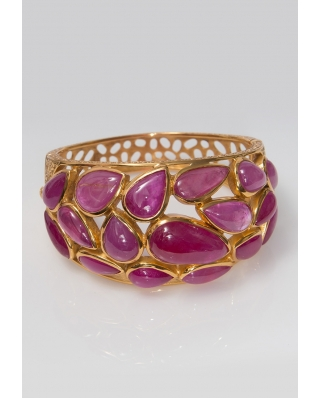 Gold plated Bangle/ AQB021