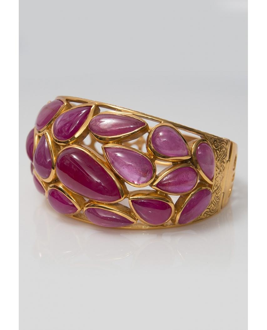 Gold plated Bangle/ AQB021