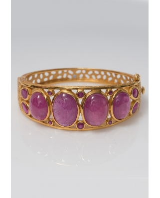 Gold plated Bangle/ AQB022