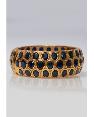 Gold Vermeil Bangle/ AQB023