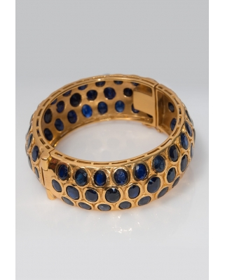 Gold plated Bangle/ AQB023