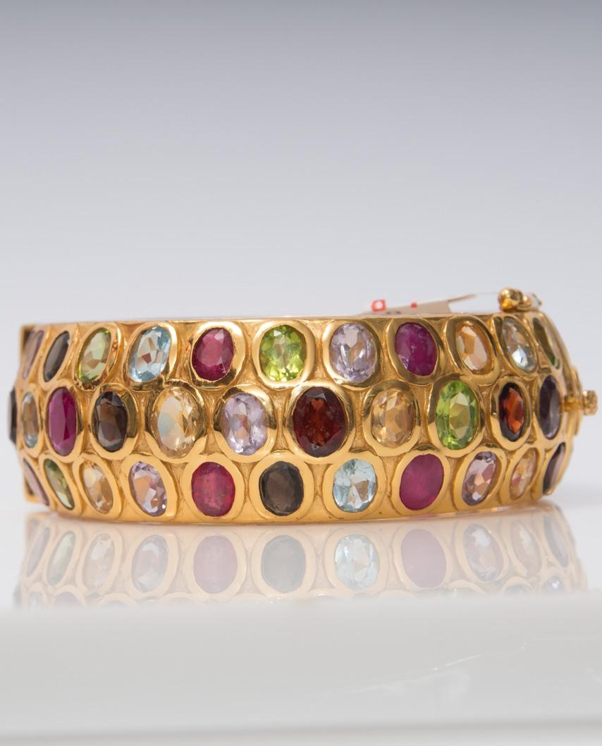 Gold plated Bangle/ AQB023