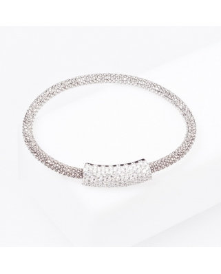 Sterling Silver Bangle Magnetic Clip
