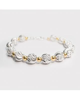 Gold Vermeil Silver bracelet / CYB018