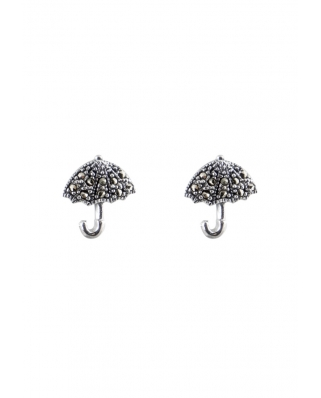 Umbrella Sterling Silver Earring
